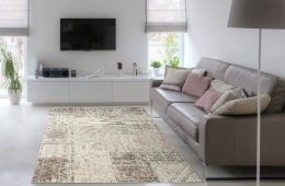 Cosy rug in living room - Fishpools