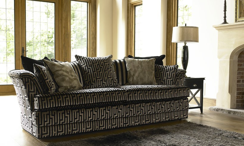 modern Fitzrovia sofa range from Fishpools