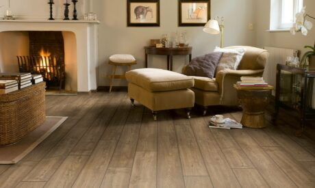Laminate flooring with wood aesthetic from Fishpools
