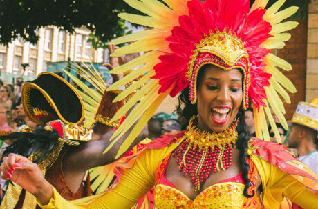 Dancers at Notting Hill carnival