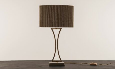 Madeira Table Lamp Antique Brass