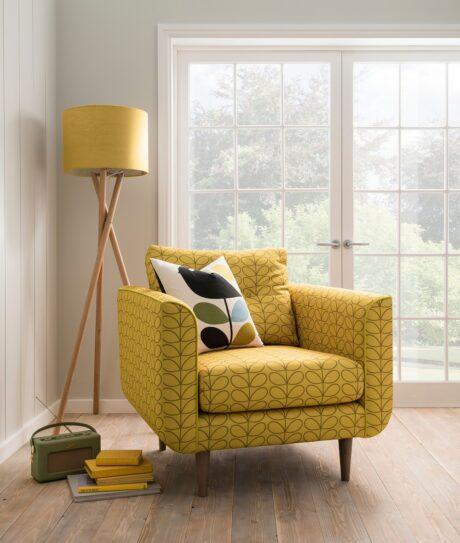 Orla Kiely Linden armchair