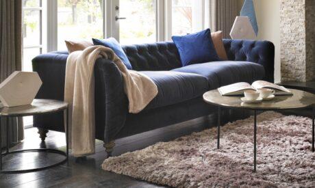 Camden midi velvet sofa
