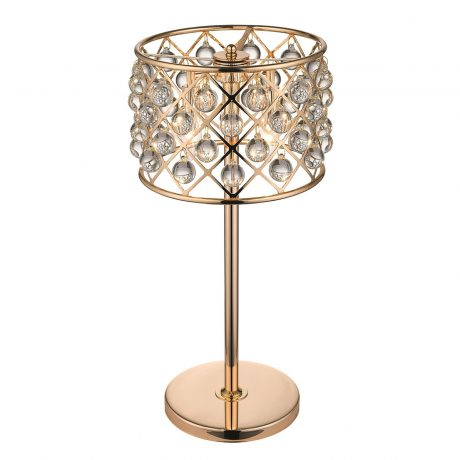 Doublet Crystal Table Lamp