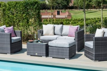 Cocoa Beach rattan garden seating set