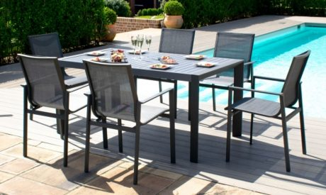 South Beach aluminium garden set