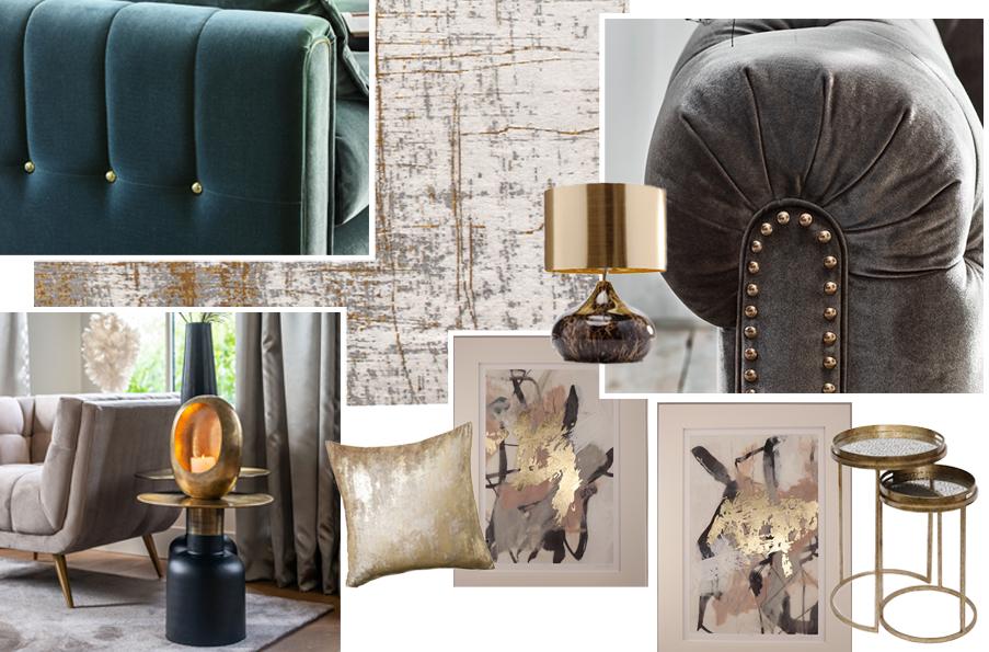 Gold Furniture Trends