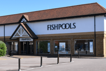 Fishpools store front