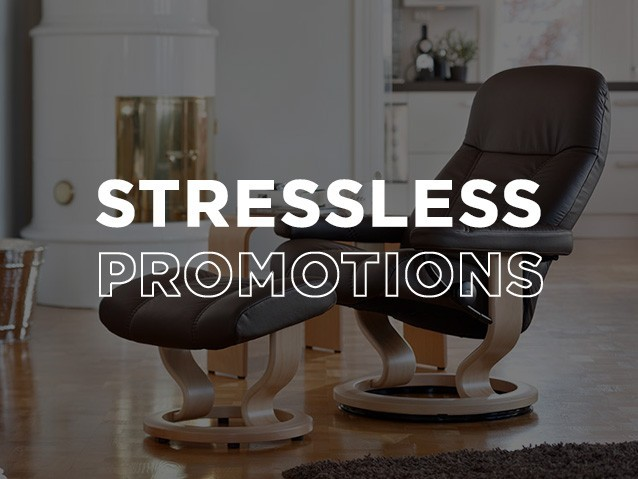 SALE SAVINGSSTRESSLESS PROMOTIONS
