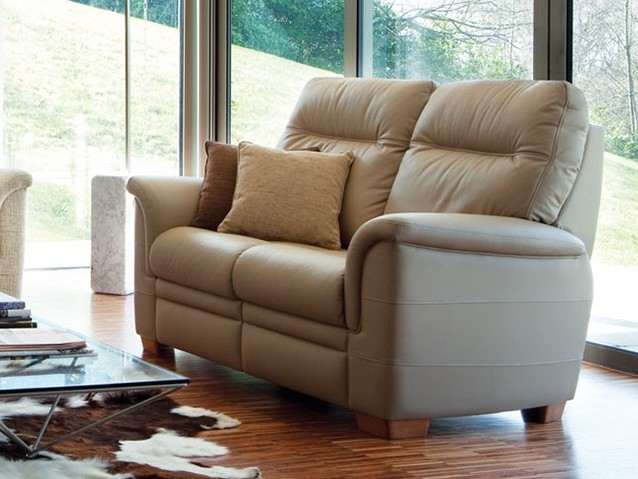 Parker knoll leather sofas