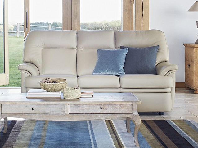 EXPLOREPARKER KNOLL LEATHER SOFAS