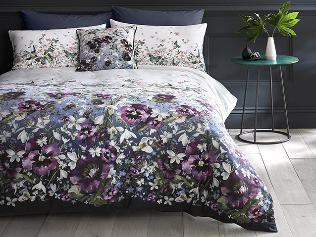 EXPLORETED BAKER BED LINEN