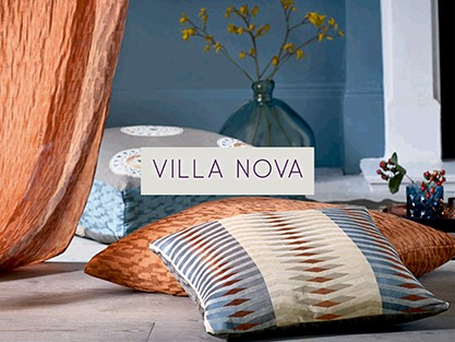 EXPLORE VILLA NOVAFABRICS & WALLPAPERS IN STORE