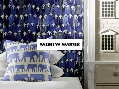 EXPLORE ANDREW MARTINFABRICS & WALLPAPERS IN STORE