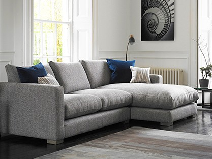All fabric corner sofas