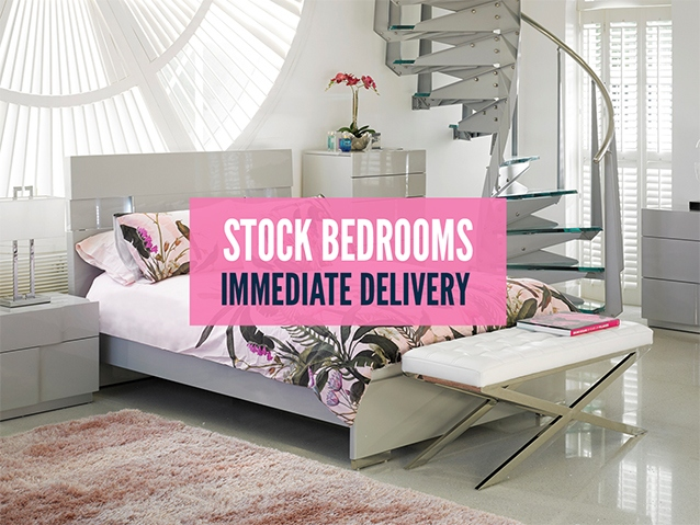 All bedrooms from stock