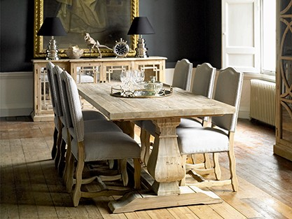 EXPLOREALL WOOD DINING TABLE SETS