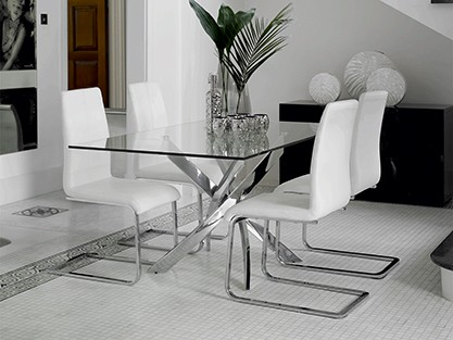 EXPLOREALL GLASS DINING SETS