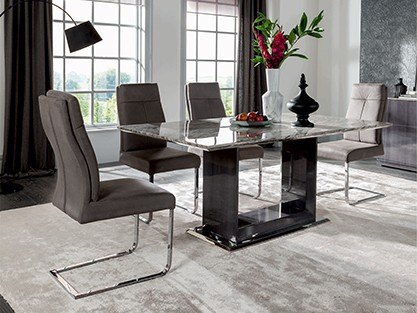 EXPLOREALL MARBLE DINING TABLE SETS