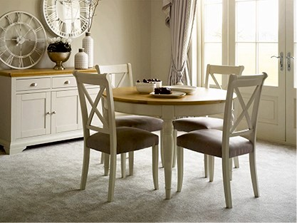 EXPLOREALL ROUND & OVAL TABLE SETS