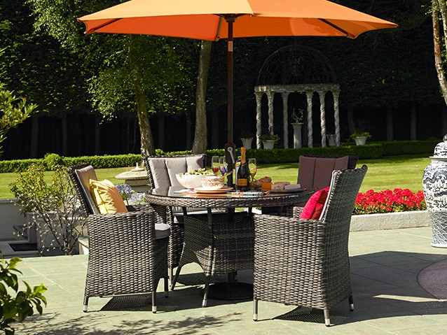 EXPLOREALL RATTAN DINING SETS