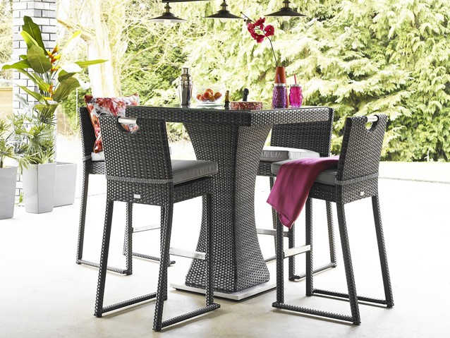 All rattan bar sets