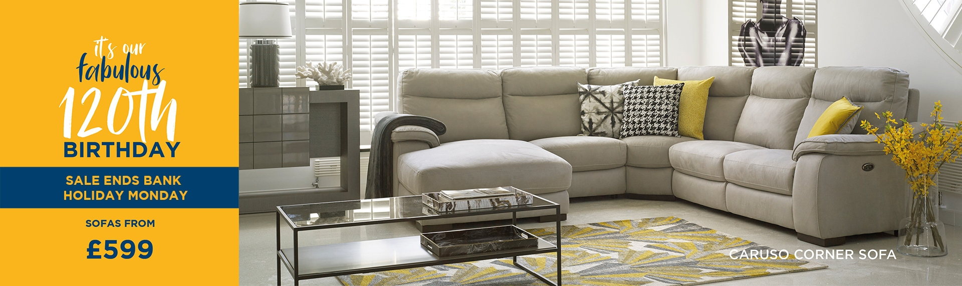 Caruso Sofa Collection