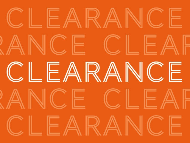 CLEARANCE & OUTLET