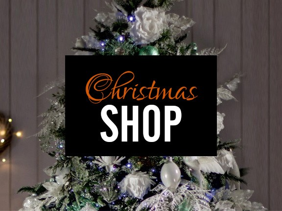 DECORATIONS, TREES & LIGHTS, GIFTS & MUCH MORE