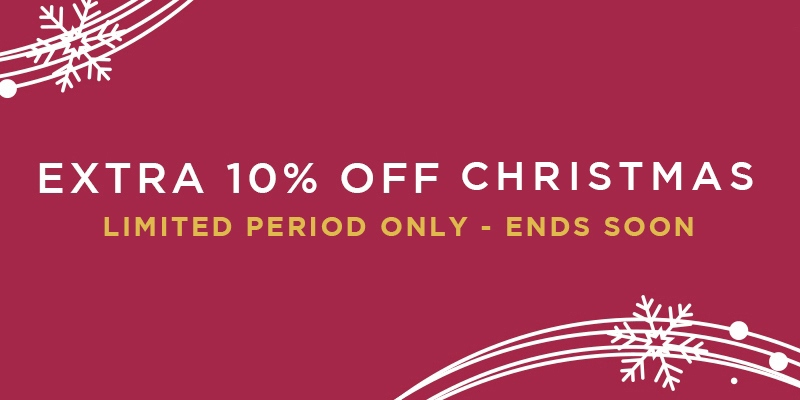 Extra 10% off all xmas
