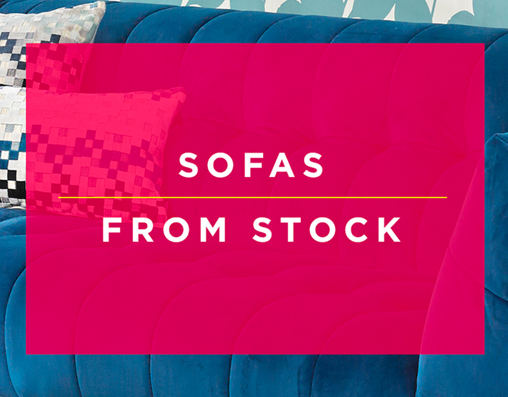Shop Sofas From Stock