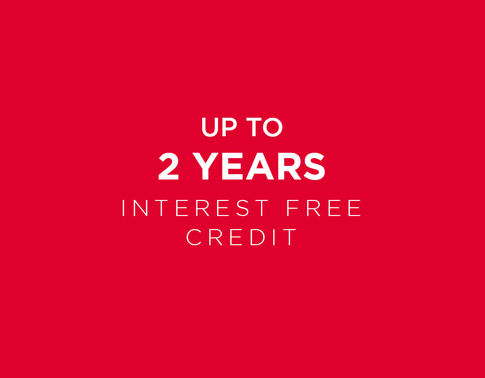 Interest Free Credit*