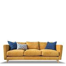 3 Seat Sofa In Fabric - Harrison