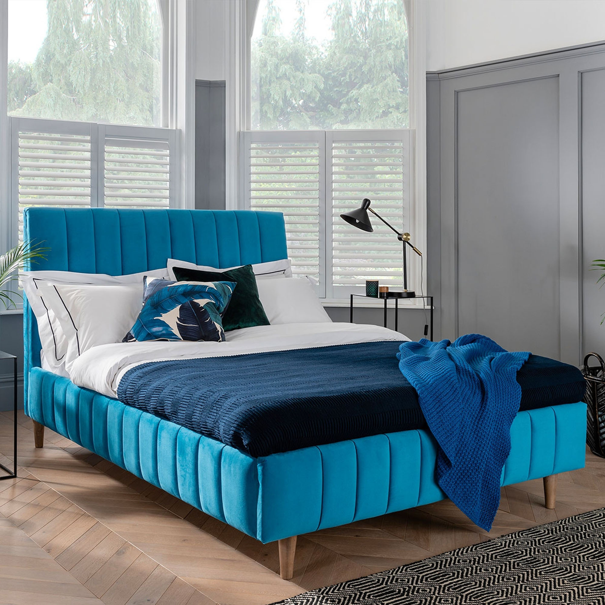 Hilton - Slatted Low End Bedframe