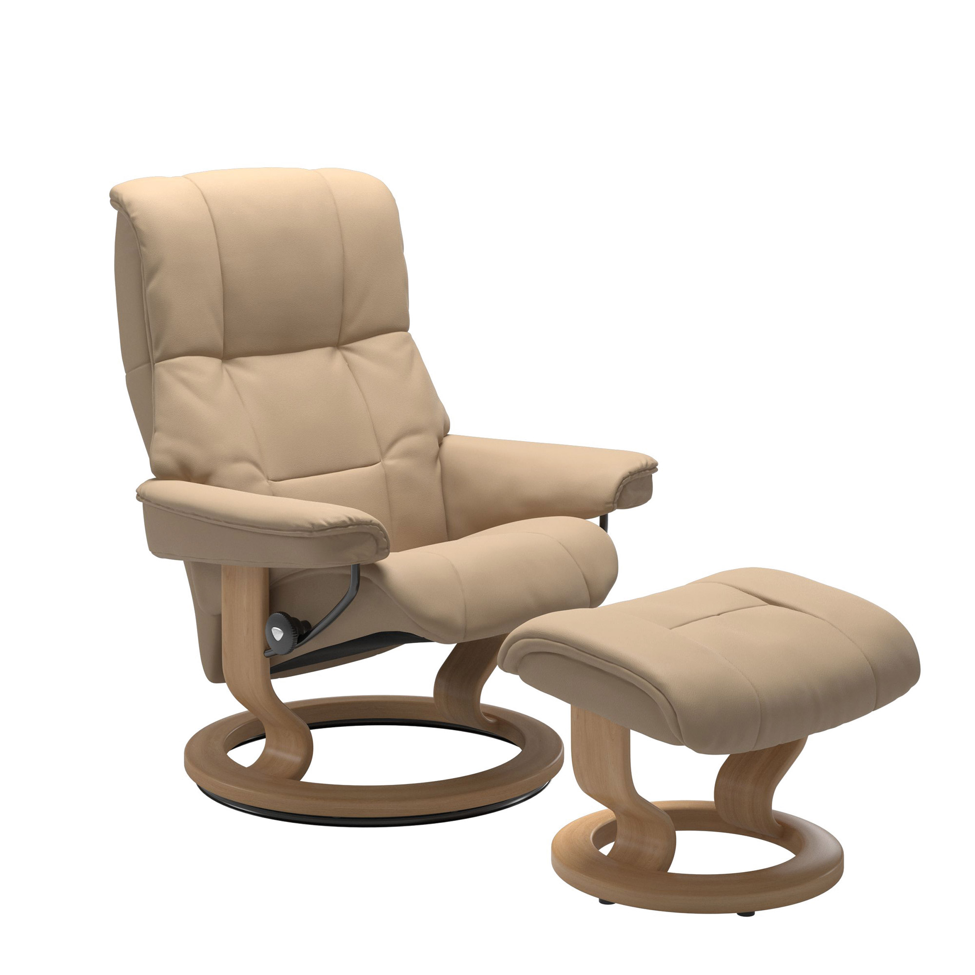 Picture of: Stressless Chairs Stressless Mayfair Large Chair Footstool Recliner Chairs Fishpools