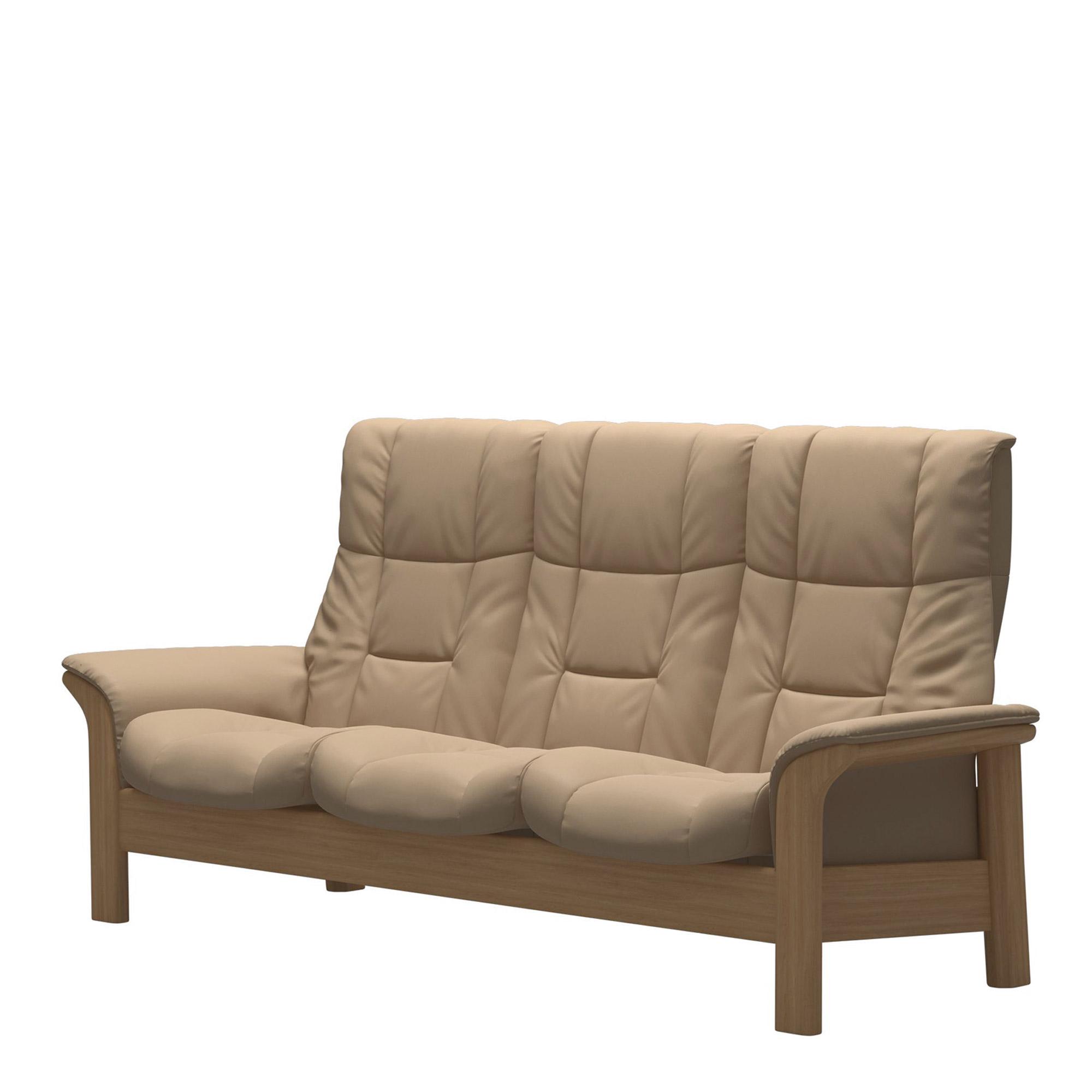 Stressless Sofas Stressless Windsor 3 Seat Sofa High Back All