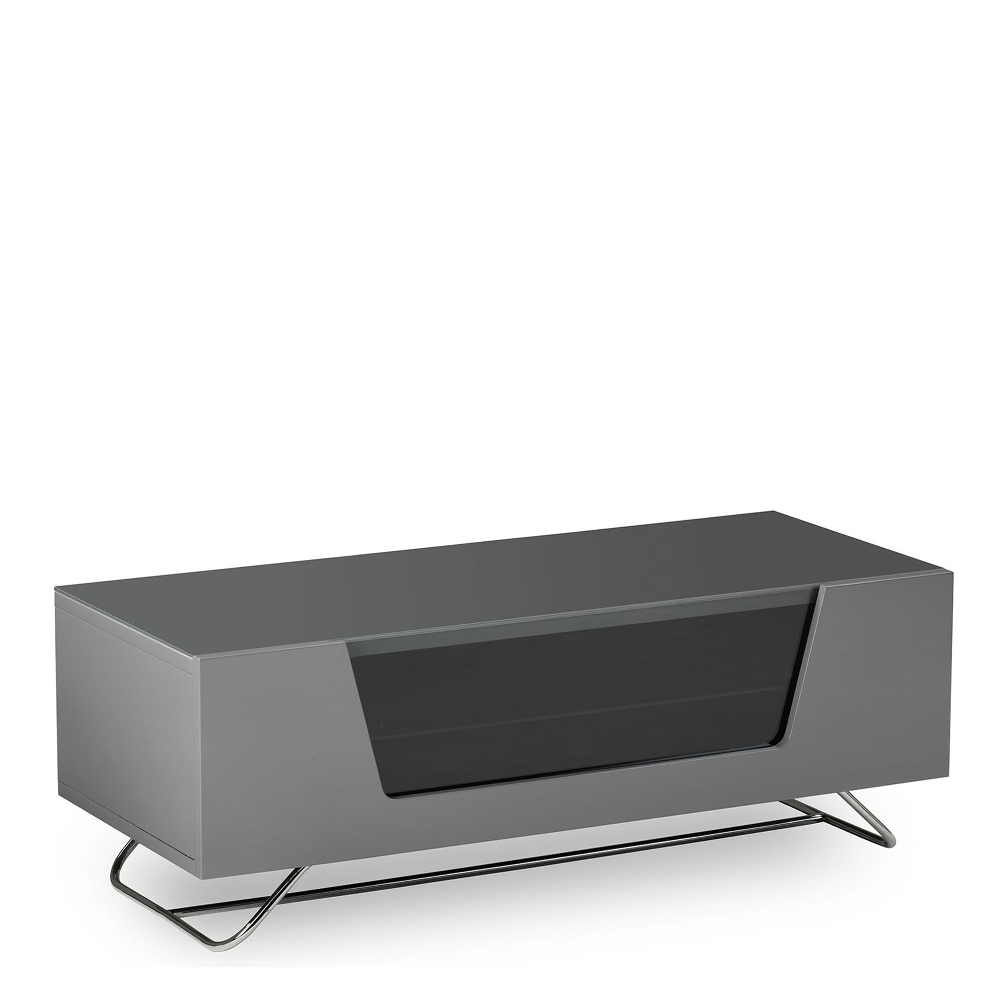 Omega Grey High Gloss Tv Unit Fishpools