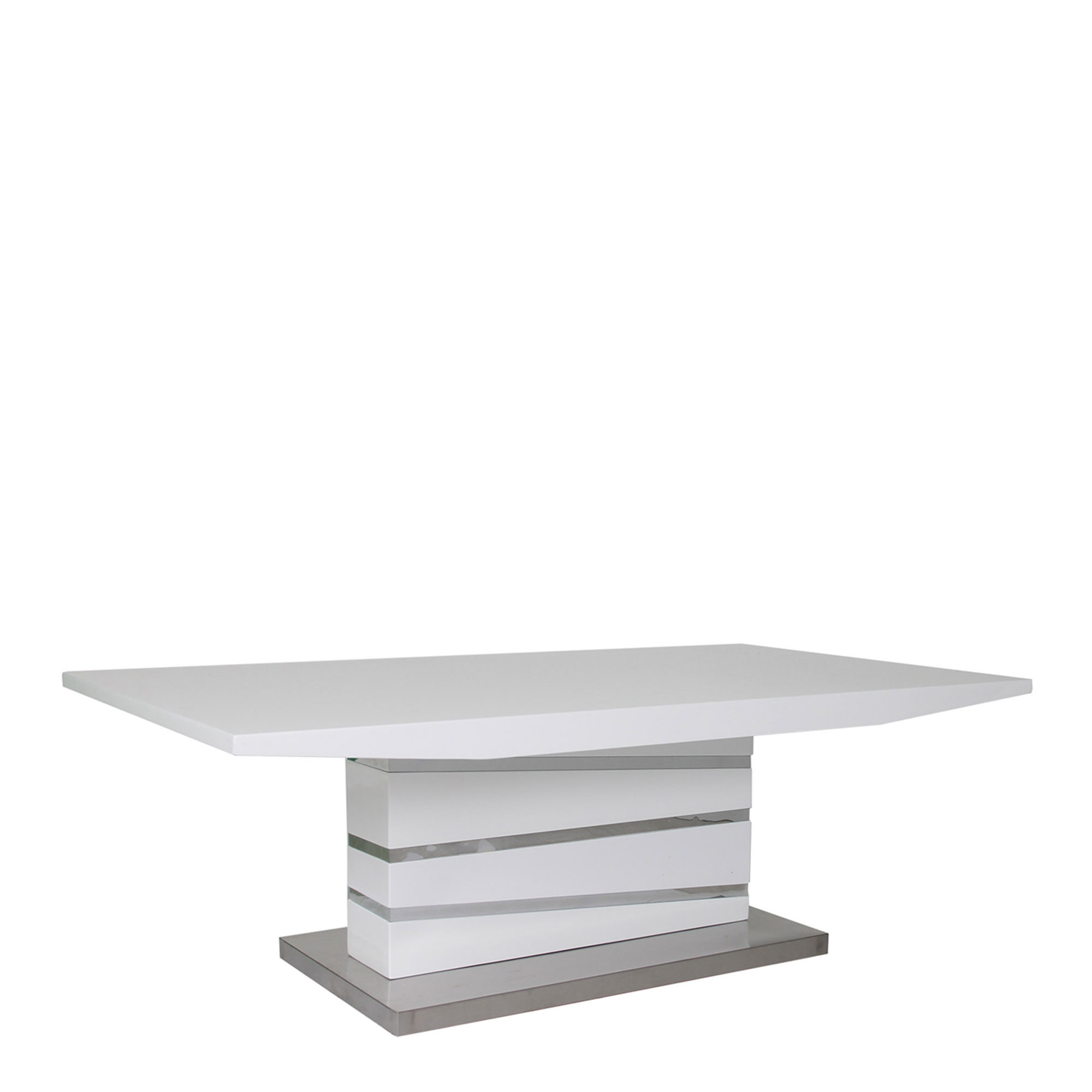 Coffee tables wooden and glass coffee tables fishpools artemis coffee table white high gloss geotapseo Image collections