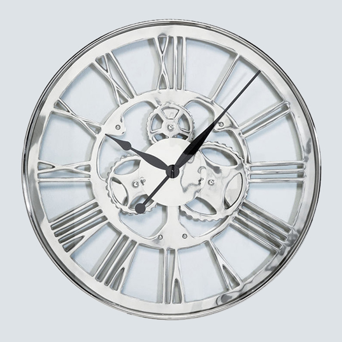 Gear Wall Clock Small 60cm Wall Clocks Fishpools