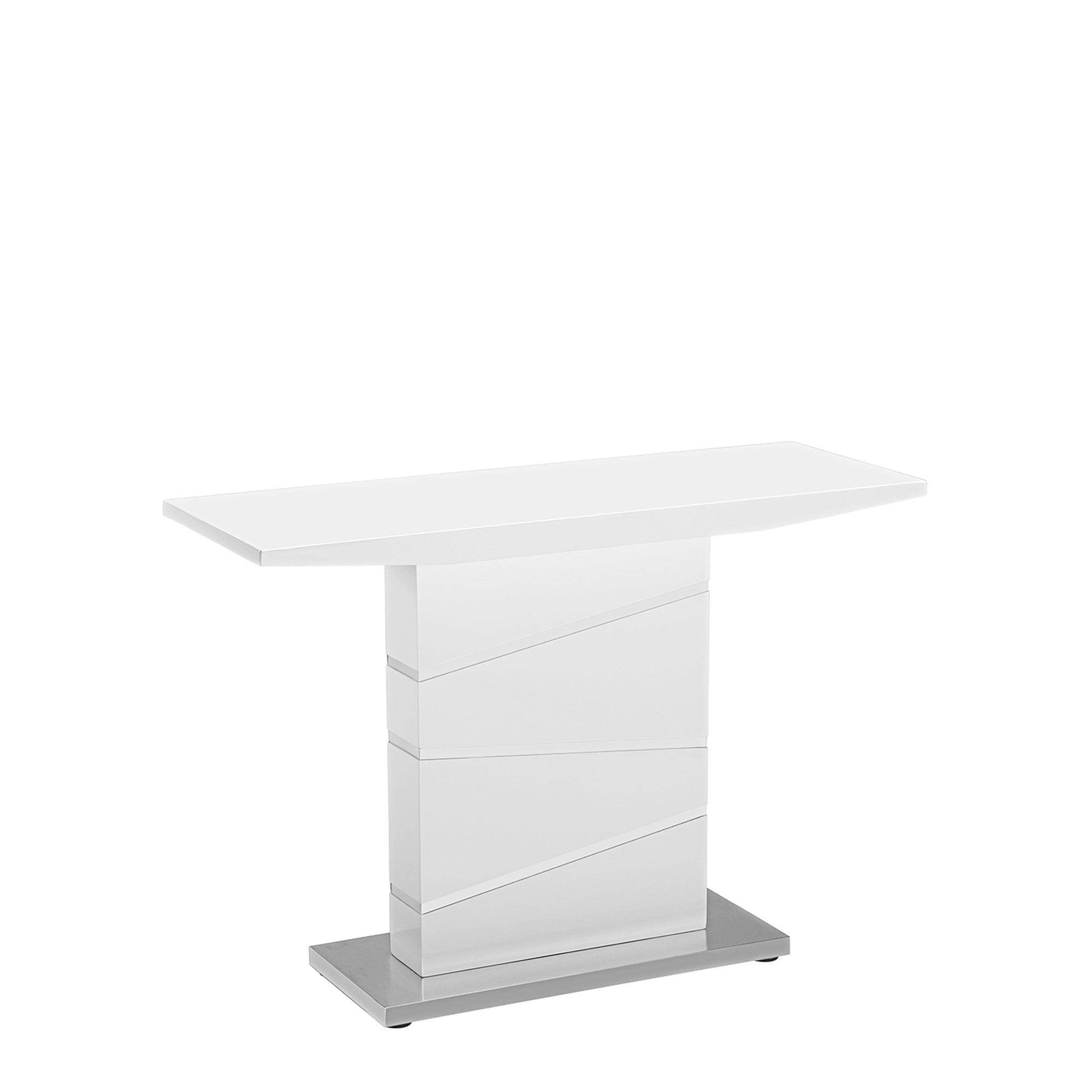 Console tables fishpools artemis console table white high gloss geotapseo Gallery