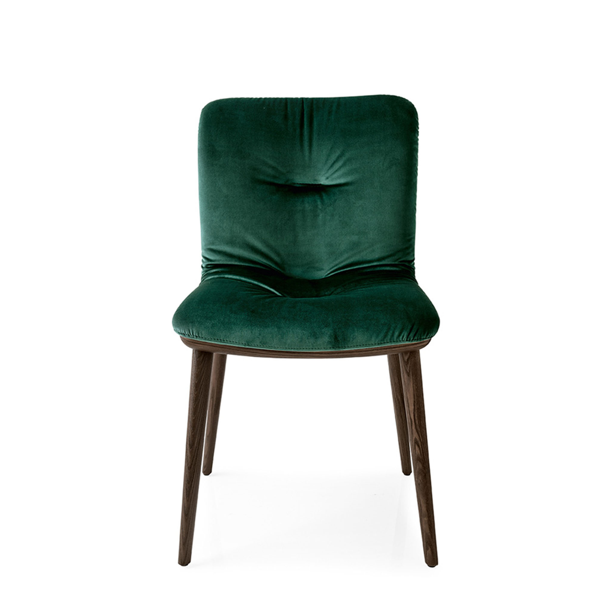 calligaris annie  cs dining chair in sh forest green fabric with psmoke. dining room chairs uk  fishpools