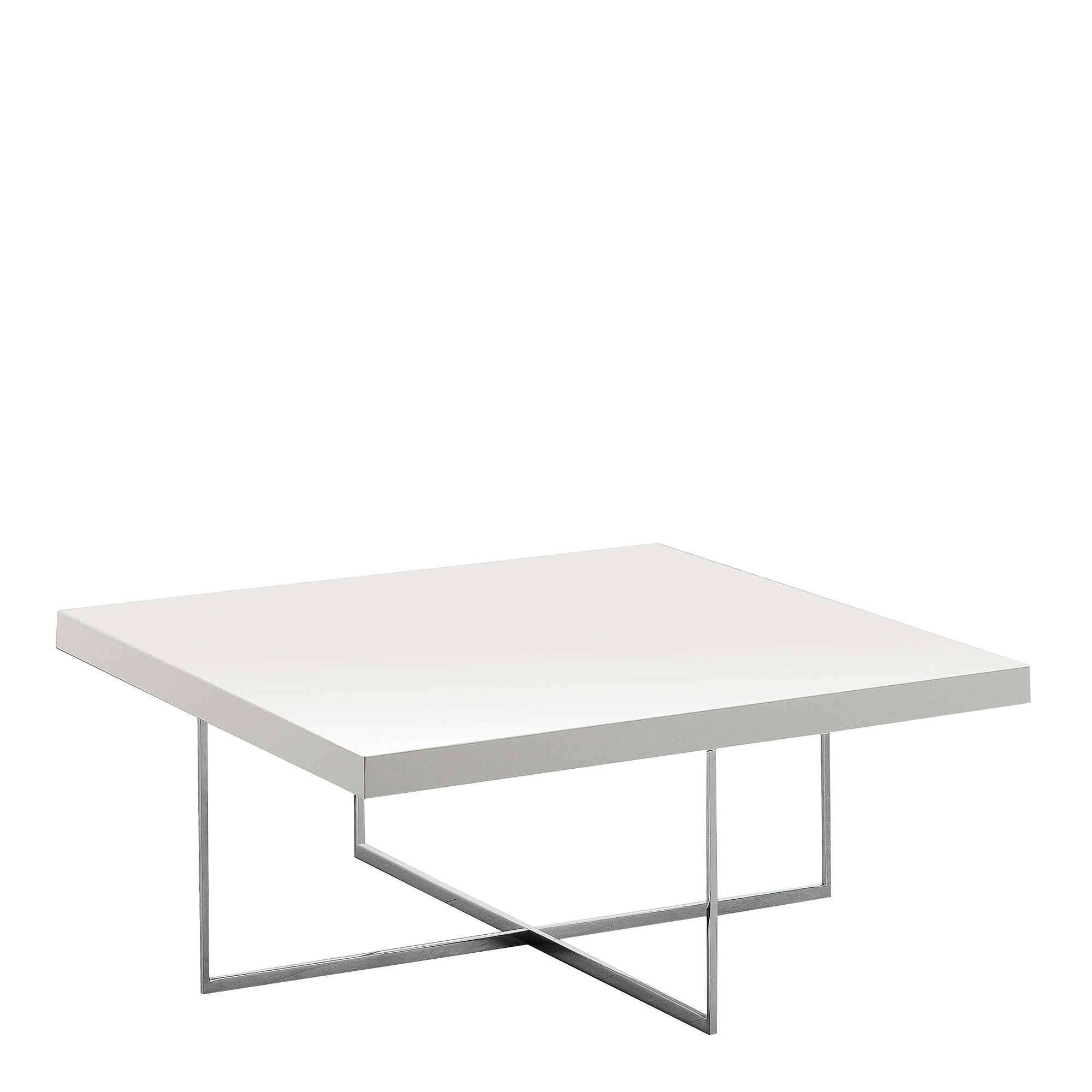 Bernini Square Coffee Table White High Gloss All Dining Ranges