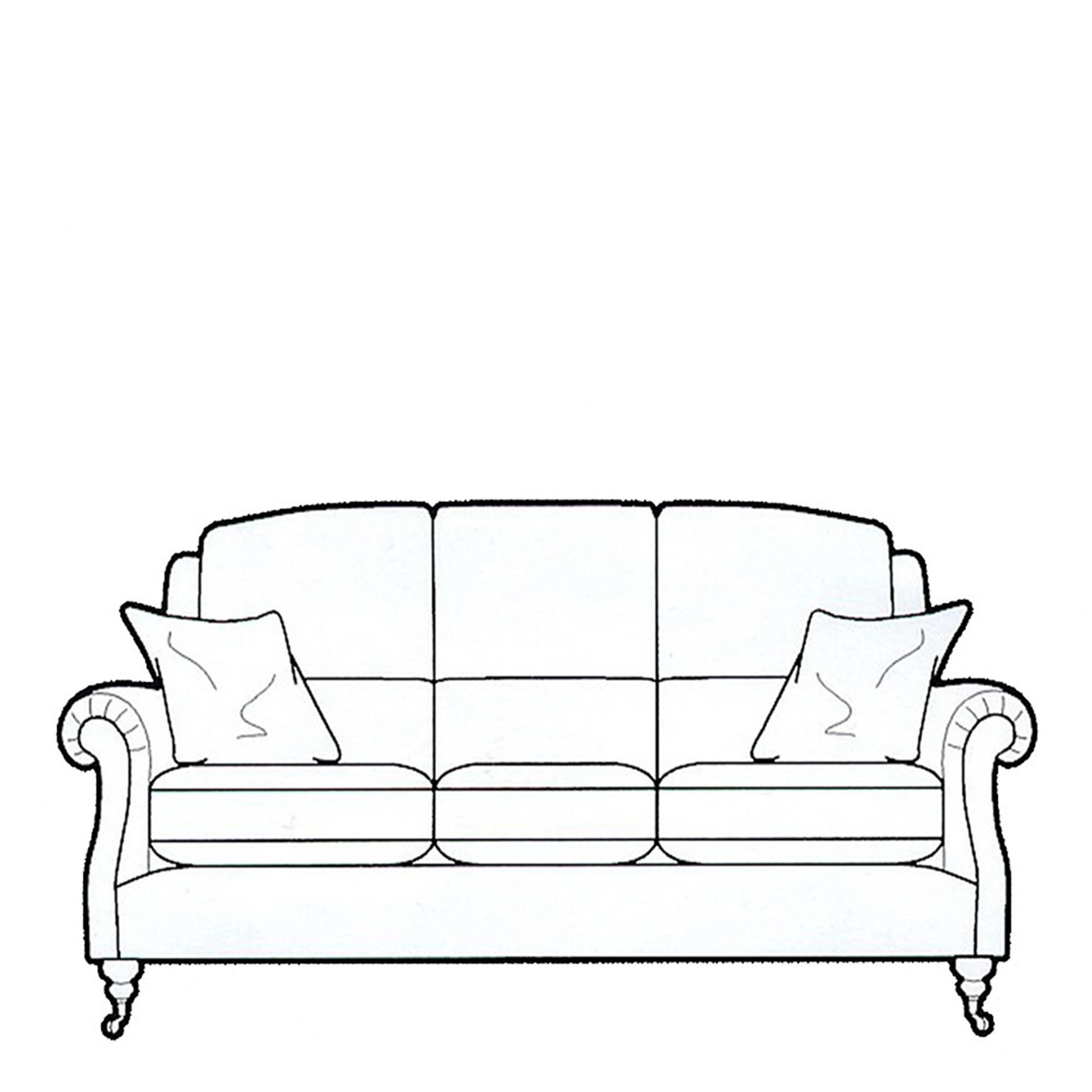 Parker Knoll Fabric Sofas Parker Knoll Oakham 3 Seat