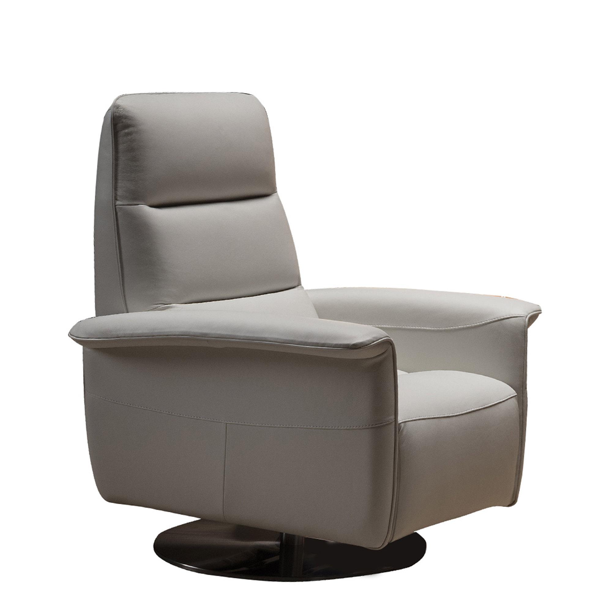 Viaggio Swivel Chair With Manual, Club Chair Recliner Swivel