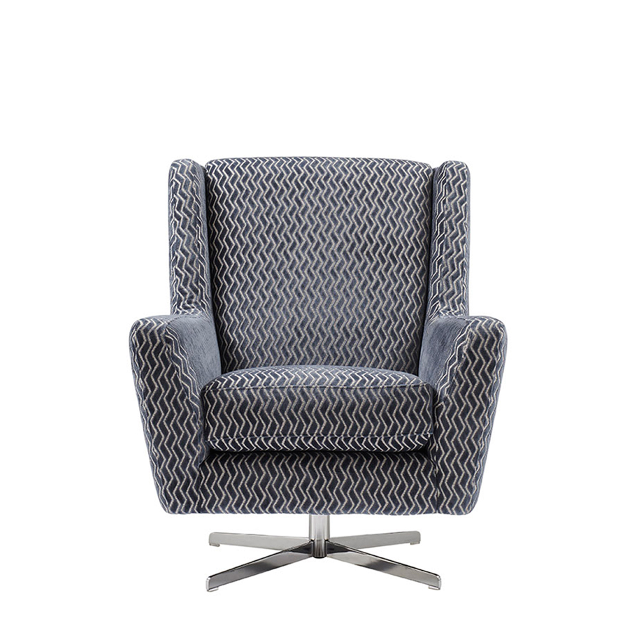 Picture of: Morgan Swivel Accent Chair Fabric Sofas Fishpools
