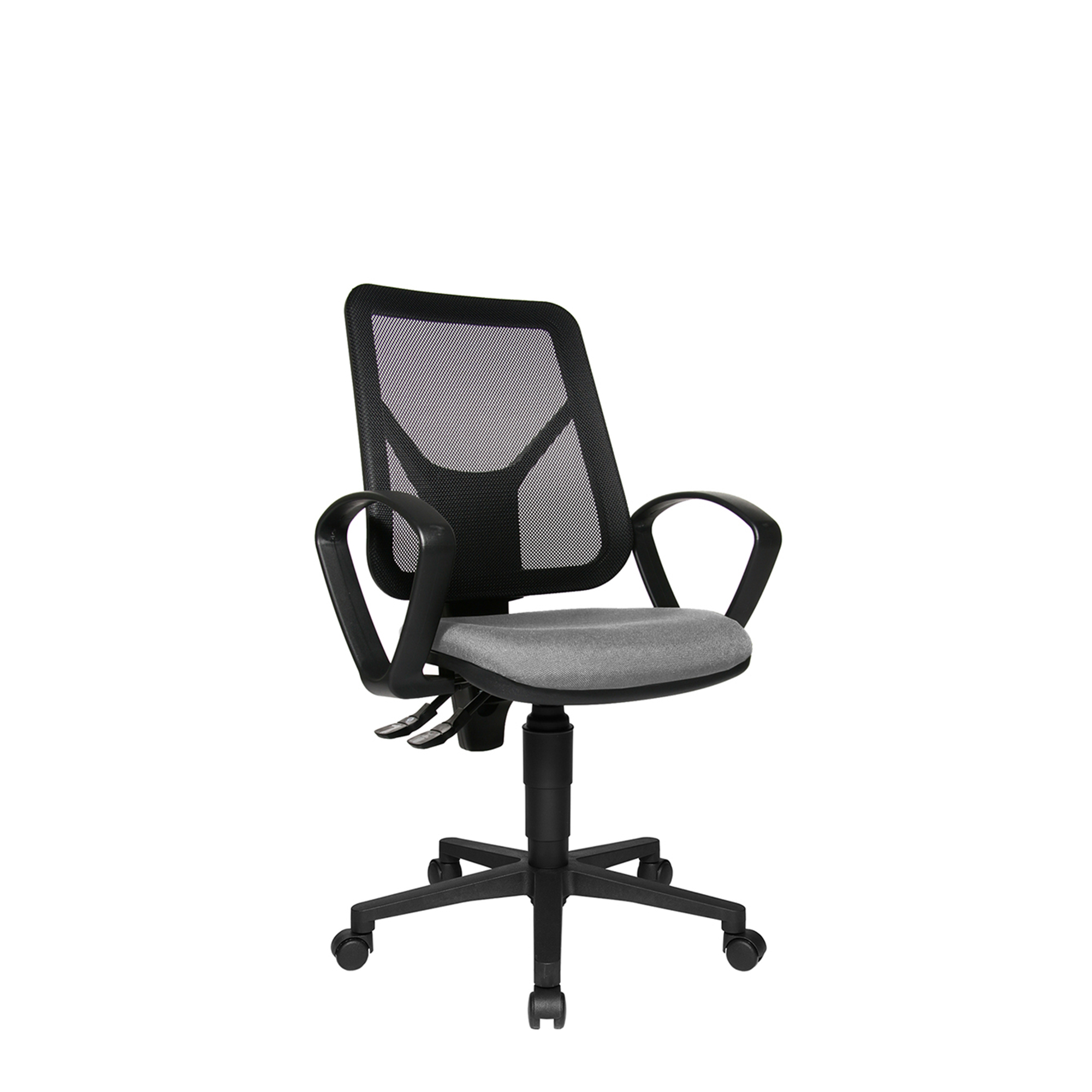 Ergo Swivel Armchair With Mesh Backrest Office Chairs Fishpools