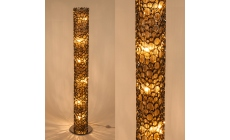 Aphrodite Nickel Tube Standard Lamp