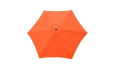 Genoa - 3m Orange Garden Parasol