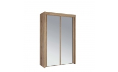 Ascot - 151cm 2 Door Mirrored Sliding Wardrobe