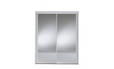 Ascot - 201cm 2 Door Mirrored Sliding Wardrobe